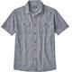 Patagonia Steersman Shortsleeve Shirt Men blue